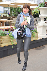 DAVINA McCALL at the 2013 RHS Chelsea Flower Show held in the grounds of the Royal Hospital, Chelsea on 20th May 2013.