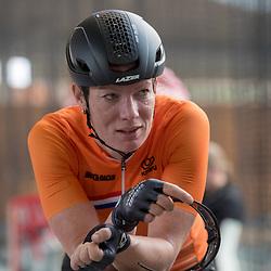21-02-2018: Wielrennen: Persmoment KNWU WK Baan: Alkmaar<br /> Kirsten Wild hoopt dat het WK op haar thuisbaan in Apeldoorn nog een medaille oplevert