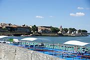The Rhône at Arles, Provence, France