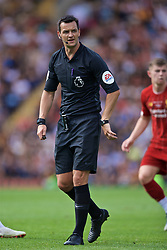 BRADFORD, ENGLAND - Saturday, July 13, 2019: Referee Andy Madley during a pre-season friendly match between Bradford City AFC and Liverpool FC at Valley Parade. (Pic by David Rawcliffe/Propaganda)