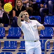 Stanojevic - Referee<br /> HUN - ESP Hungary (white cap) Vs. Spain (Blue cap)<br /> LEN Europa Cup Men 2018 finals<br /> Water Polo, Pallanuoto<br /> Rijeka, CRO Croatia<br /> Day03<br /> Photo &copy; Giorgio Scala/Deepbluemedia/Insidefoto