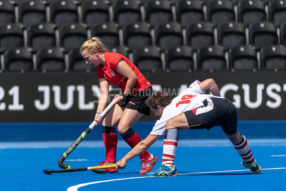 Dereham v Bristol Firebrands - Mixed Championships Tier 2 3rd/4th Play off, Lee Valley Hockey & Tennis Centre, London, UK on 03 June 2018. Photo: Simon Parker