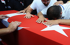 Turkey: Police Officer Funeral, 27 August 2016