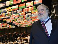 Fotball<br /> Foto: imago/Digitalsport<br /> NORWAY ONLY<br /> <br /> Special Ex-Fifa-Funktionaer Chuck Blazer spionierte fuer das FBI Fussball International 62. FIFA Kongress in Budapest 2012 25.05.2012 Chuck BLAZER (USA, FIFA-Exekutivkomitee)