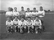 14/09/1952<br /> 09/14/1952<br /> 14 September 1952<br /> Soccer: Waterford v Transport at Harolds Cross Park, which Waterford won. The Waterford team.