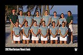 UM Women's Tennis Team Photos 2002-11