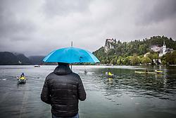 58th Prvomajska Regatta Bled 2017, on April 23, 2017, at Lake Bled, Bled, Slovenia.  Photo by Vid Ponikvar / Sportida