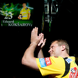 20110527: SLO, Handball - RK Celje Pivovarna Lasko vs Trimo Trebnje and farewell of Edo Koksarov