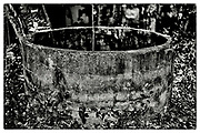 """An abandoned concrete water reservoir, in the grounds of the Pha Koeng Buddhist temple, Chaiyaphum Province, Northeast Thailand, 2014. From the series: Pha Koeng"""" (2011-2017)."""