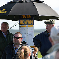 Action around the bookies at the annual Lisdoonvarna races at the weekend.<br /> Photograph by Yvonne Vaughan