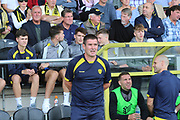 Burton Albion Manager Nigel Clough during the EFL Sky Bet League 1 match between Burton Albion and Coventry City at the Pirelli Stadium, Burton upon Trent, England on 14 September 2019.