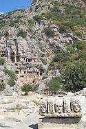 Ancient Lycian ruins at Myra, Turkey<br /> c. Ellen Rooney