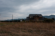 Abandoned Farmhouses near Nahara, rural Fukushima, Japan. Tuesday April 30th 2013