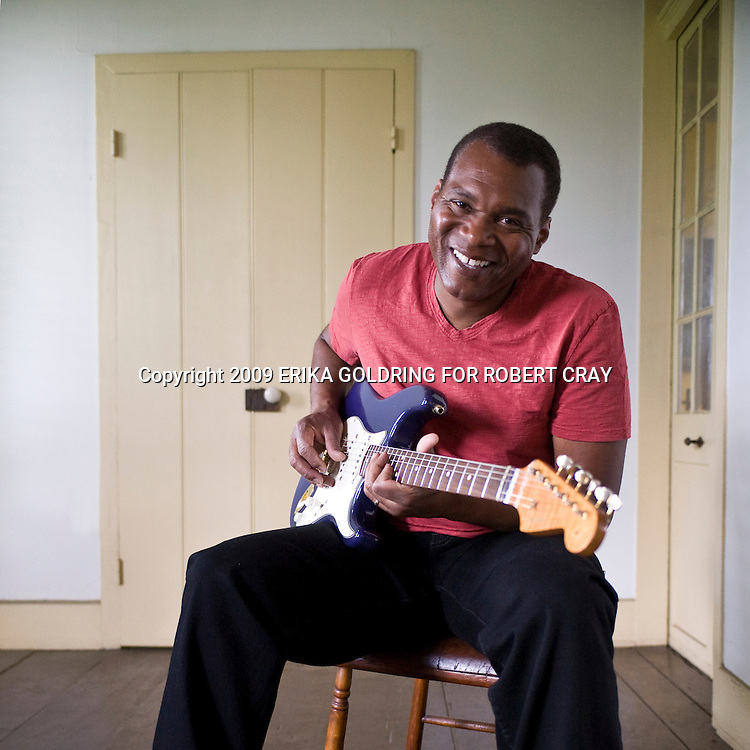 Robert Cray at the Pitot House in New Orleans, LA, April 26, 2009.