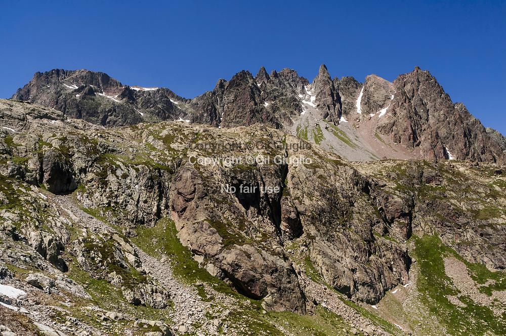 France, Auvergne Rhône-Alpes, Haute-Savoie (74) , Pays du Mont Blanc, sur la montagne de la Flégère // France, Auvergne Rhone-Alpes region, Haute-Savoie (74), Mont-Blanc region, the mountain of La Flégère