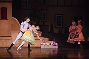 Bay Pointe Ballet performs Coppelia at the San Mateo Performing Arts Center in San Mateo, California, on February 21, 2015. (Stan Olszewski/SOSKIphoto)