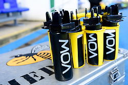 A general view of VOW products in the Wasps bench at Madejski Stadium prior to kick off  - Mandatory by-line: Ryan Hiscott/JMP - 01/03/2020 - RUGBY - Madejski Stadium - Reading, England - London Irish v Wasps - Gallagher Premiership Rugby