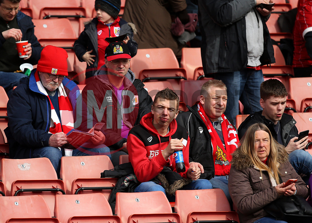 Bristol City fans at Barnsley - Mandatory by-line: Robbie Stephenson/JMP - 30/03/2018 - FOOTBALL - Oakwell Stadium - Barnsley, England - Barnsley v Bristol City - Sky Bet Championship