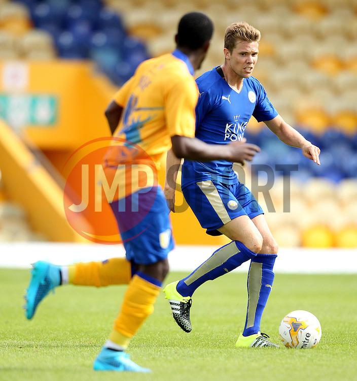 Leicester City's Dean Hammond on the ball - Mandatory by-line: Robbie Stephenson/JMP - 25/07/2015 - SPORT - FOOTBALL - Mansfield,England - Field Mill - Mansfield Town v Leicester City - Pre-Season Friendly