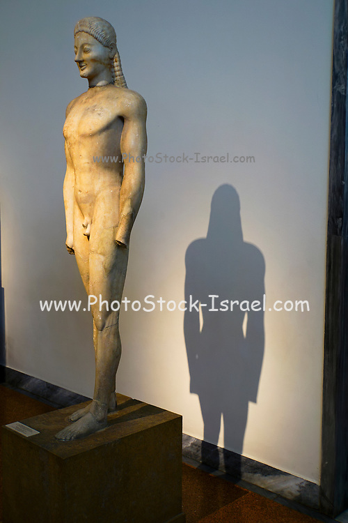 Greece, Athens, National Archaeology Museum. male body