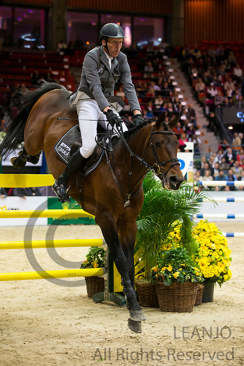 Ludger Beerbaum - Chaman<br /> Rolex FEI World Cup Final 2013<br /> &copy; DigiShots