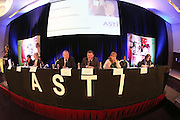 XXJOB. 01/04/2013. ASTI Annual Convention. Pictured at the Annual Convention of ASTI at Whites Hotel, Wexford. pictured included center Pat King Gen Sec, Gerry Breslin, President and Sally Maguire, incoming President. Picture: Patrick Browne