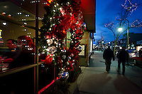 Holiday Shopping in Downtown Traverse City, 2012