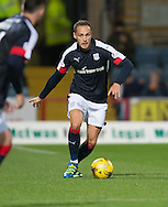 Dundee&rsquo;s Tom Hateley - Dundee v Partick Thistle in the Ladbrokes Scottish Premiership at Dens Park, Dundee. Photo: David Young<br /> <br />  - &copy; David Young - www.davidyoungphoto.co.uk - email: davidyoungphoto@gmail.com