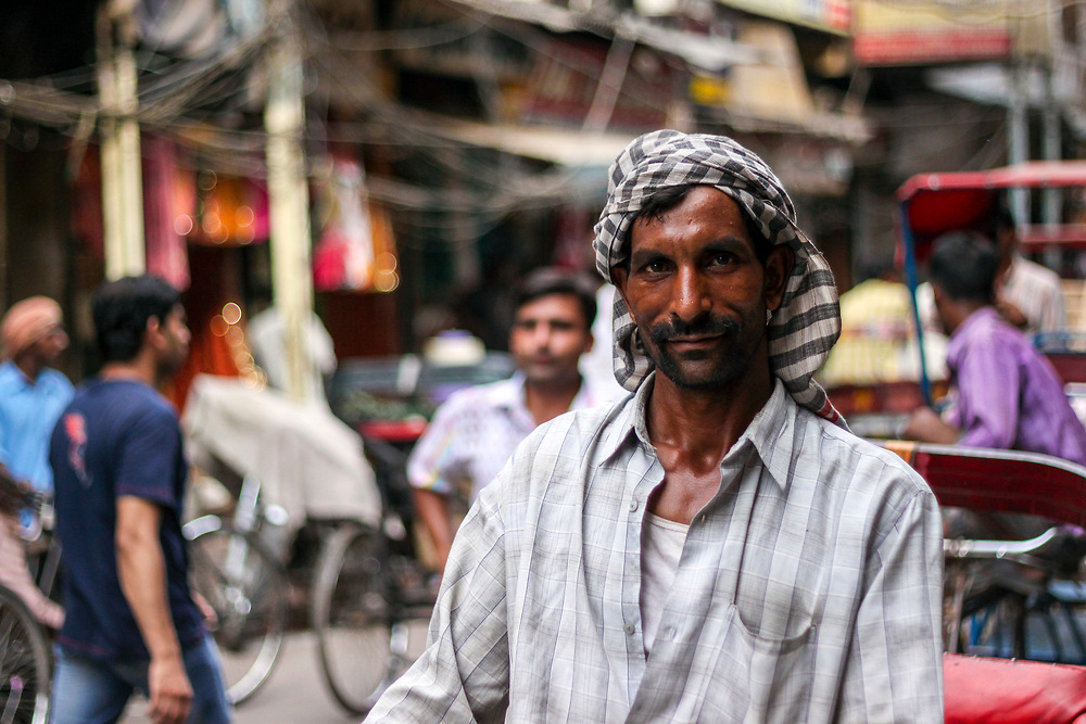 street scenes of Delhi, Northern India