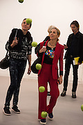 CAROLYN CLEWER; TIPHAINE DE LUSSIS, Opening of Frieze, Regents Park, London 13 October 2015