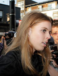 Novak Djokovic Foundation - London Gala Dinner<br /> Princess Beatrice attends the inaugural London fundraiser in aid of tennis champion's foundation raising funds for vulnerable and disadvantaged children, especially in his native Serbia. Takes place day after men's Wimbledon final. Roundhouse, Chalk Farm Road, London, United Kingdom<br /> Monday, 8th July 2013<br /> Picture by Mike  Webster / i-Images