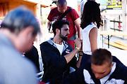 Riccardo Cervi<br /> Raduno Nazionale Maschile Senior<br /> Autografi con tifosi<br /> Folgaria, 27/07/2017<br /> Foto Ciamillo-Castoria/ M. Brondi