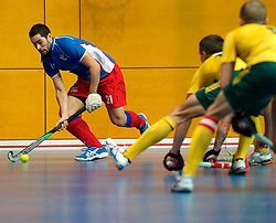 LEIZPIG - WC HOCKEY INDOOR 2015<br /> Foto: CZE v AUS (Pool A)<br /> VACEK David<br /> FFU PRESS AGENCY COPYRIGHT FRANK UIJLENBROEK
