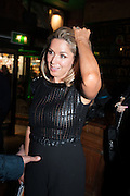 CLAIRE SWEENEY, Press night performance of 'Once' at the Phoenix Theatre, Charing Cross Rd, -after party at Waxy O'Connor's, Rupert St. London. 9 april 2013.