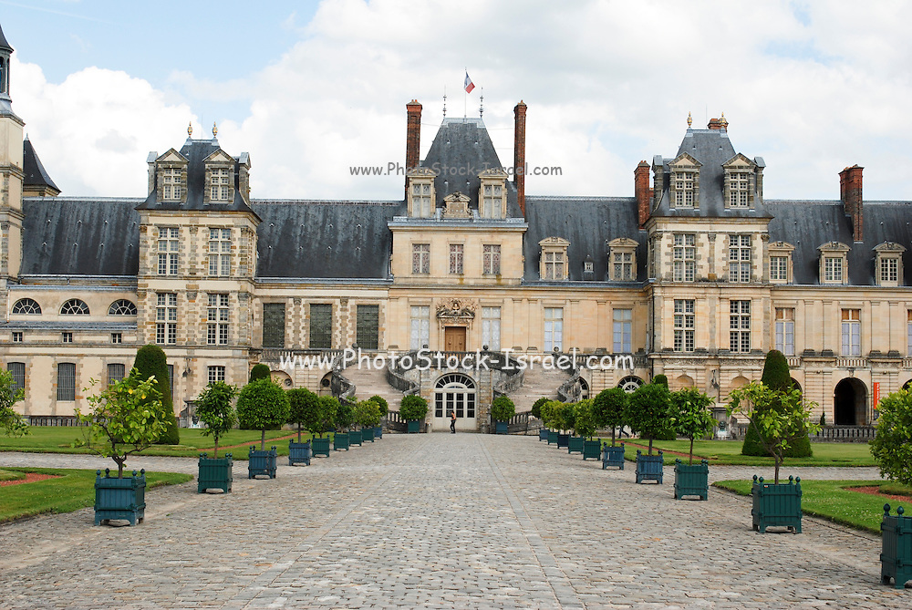 France, The royal Palace of Fontainebleau