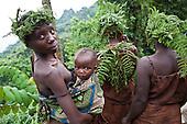 Batwa tribe experience, Bwindi, Uganda.