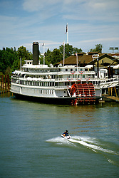 California: Gold Country.  Delta King riverboat hotel at Old Sacramento..Photo copyright Lee Foster, 510/549-2202, lee@fostertravel.com, www.fostertravel.com..Photo #: cagold105