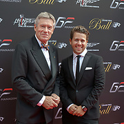 Hurlingham Club ,London, England, UK. 10th July, 2017. Tiff Needell,Jonny Dodge attend The Grand Prix Ball attracted a host of star-studded celebrity guests last night at Hurlingham Club , including Formula 1 drivers as well as iconic Formula 1 cars. Guests mingled with the elite whist being enterained with live performances by award winning UK artists and DJs ahead of the British Grand Prix at Silverstone.