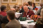 John Perry attends the 48th Annual Classified Staff Service Awards in Baker Center Ballroom on Friday, October 14, 2016.