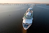 Cruise Ship High Angle