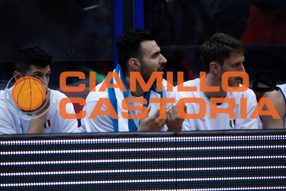 Brian Sacchetti<br /> Nazionale Italiana Maschile Senior - 2019 FIBA Basketball World Cup Qualifiers<br /> Croazia Italia -  Croatia Italy<br /> FIP 2017<br /> Zagabria, 24/11/2017<br /> Foto   Ciamillo-Castoria