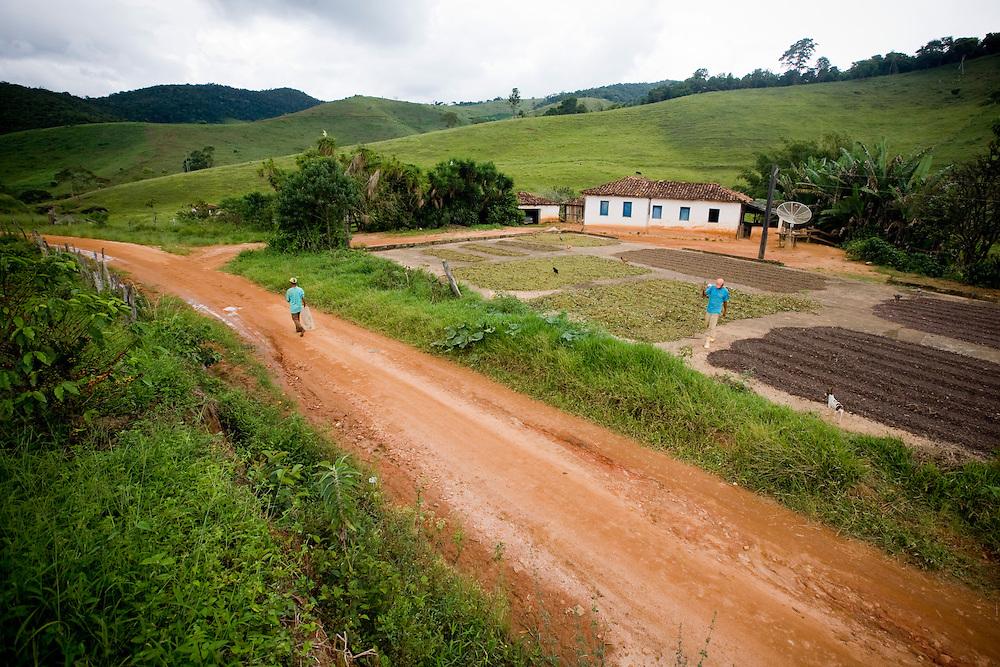 Matipo_MG, Brasil...Rota Imperial. Na foto comunidade de Abre Campo, Minas Gerais...The Royal-Imperial Route. In this photo the Abre Campo community, Minas Gerais...Foto: BRUNO MAGALHAES / NITRO