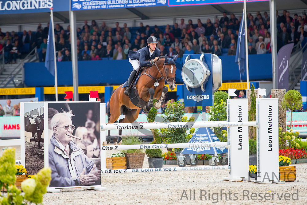 Maikel van Mierlo - Galote<br /> FEI World Breeding Jumping Championships for Young Horses 2016<br /> © DigiShots