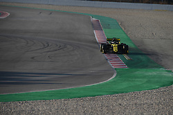 February 19, 2019 - Barcelona, Catalonia, Spain - German driver Nico Hulkenberg of French  team Renault F1 Team driving his single-seater RS19 during Barcelona winter test in Catalunya Circuit in Montmelo, Spain  (Credit Image: © Andrea Diodato/NurPhoto via ZUMA Press)