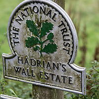 Sept 2016 Haltwhistle , Northumerland, UK - Hadrians Wall Route in Depth Feature with Dan Aspel