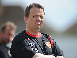 Thomas Baiilie, Manager, Kettering town, Kettering Town v Aylesbury Utd, Southern League, Burton Park, Kettering, 9th August 2014
