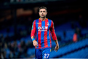 Crystal Palace #27 Damien Delaney during the EFL Cup match between Crystal Palace and Huddersfield Town at Selhurst Park, London, England on 19 September 2017. Photo by Sebastian Frej.