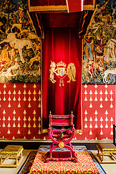 The Queen's Inner Hall, Stirling Castle, Scotland<br /> <br /> (c) Andrew Wilson | Edinburgh Elite media