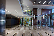 VA Architectural interior of Patriot Ridge lobby by Jeffrey Sauers of Commercial Photographics