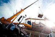 Liebherr cranes. Am Cranes Darwin. Photo Shane Eecen